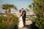 Sposi terrazza Hotel Cavalieri Roma