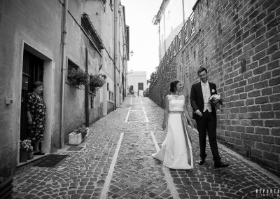 Sposi matrimonio Nemi