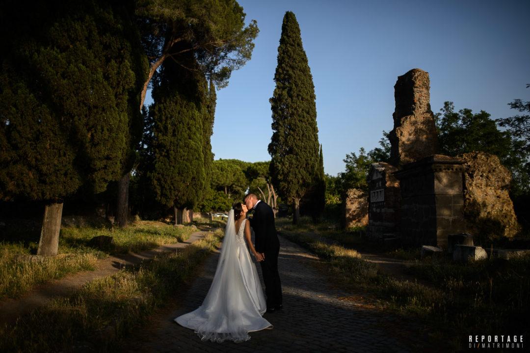 Matrimonio sull'Appia Antica, nozze all'insegna del fascino della storia