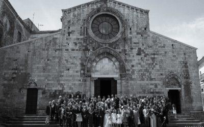 Foto gruppo matrimonio