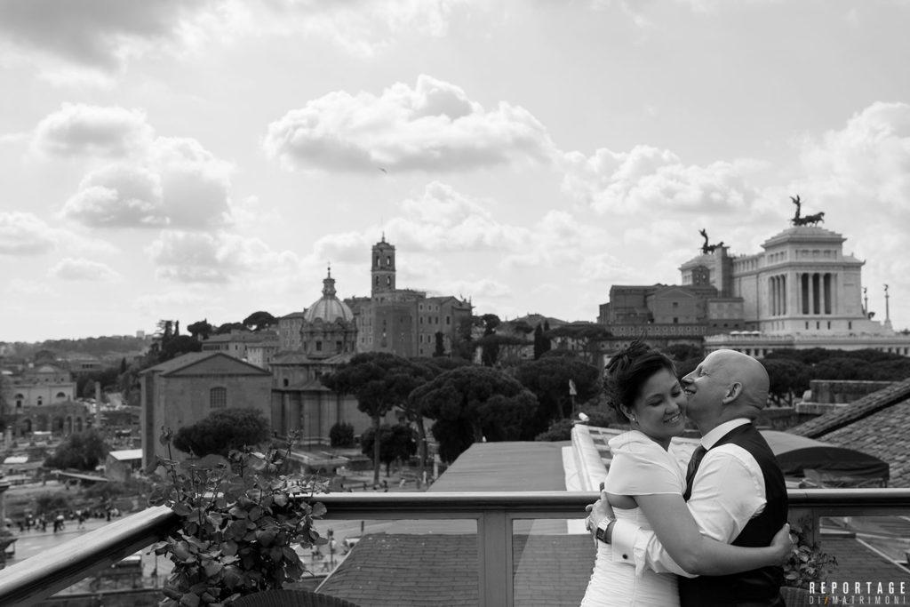 Roof Garden Hotel Forum Roma
