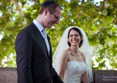 sposi matrimonio ebraico Roma