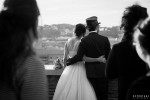 Sposi terrazza Giardino Aranci Aventino