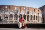 Anniversario matrimonio sposi Colosseo