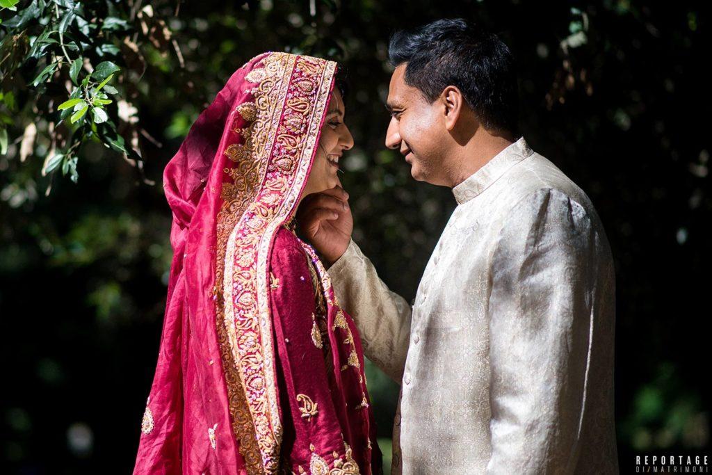 foto matrimonio indiano roma
