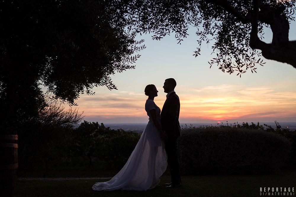 Sposi matrimonio Country Chic Casale Campovecchio