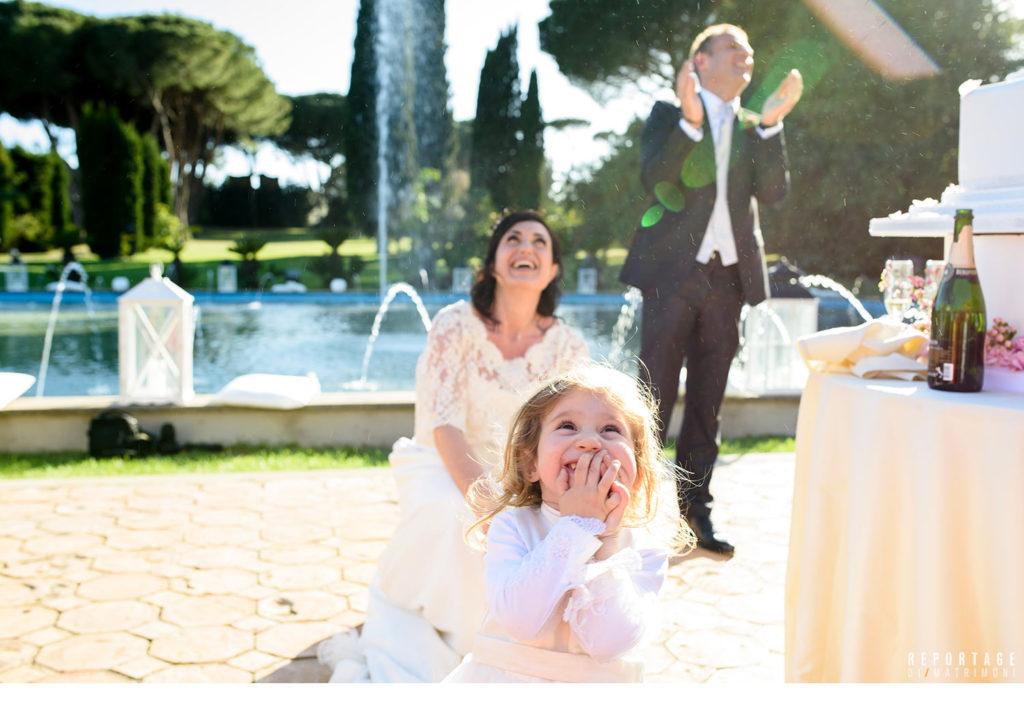 organizzare matrimonio figli