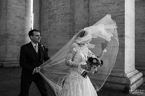 Sposi San Pietro Colonnato