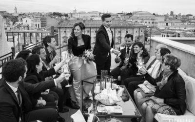 matrimonio Terrazza Borromini Roma