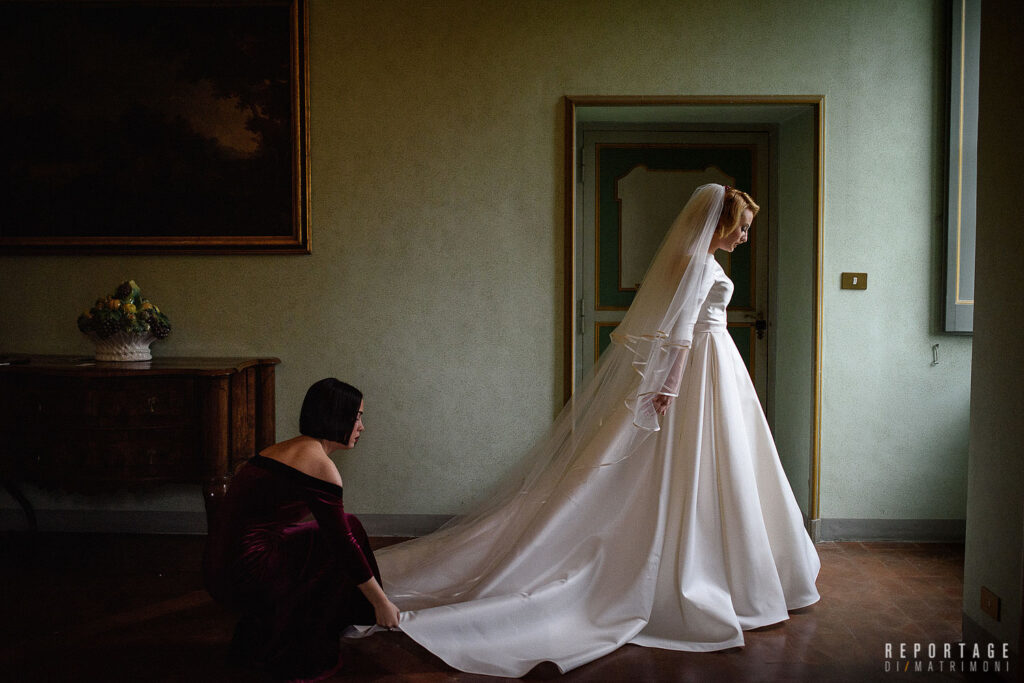 preparazione sposa Castello di Torre in Pietra