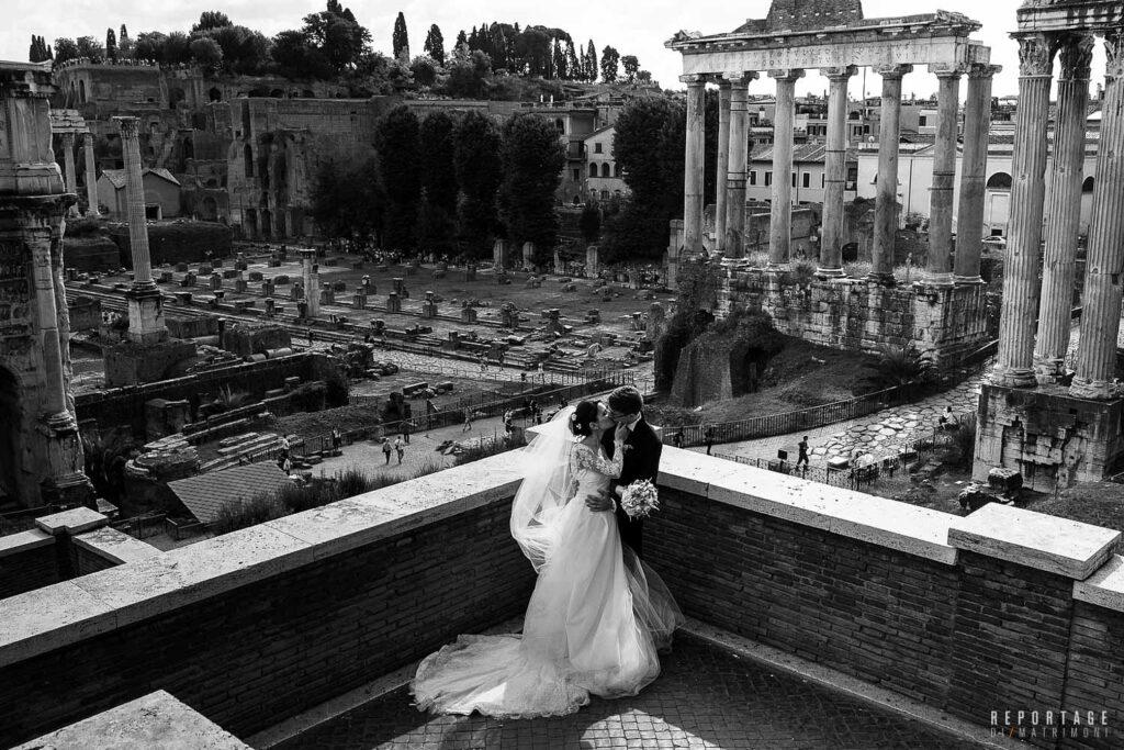 Foto sposi Fori Romani