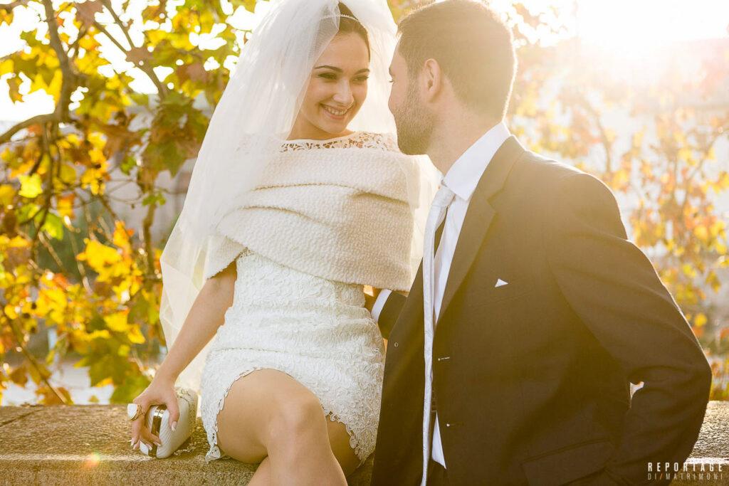 FOTO matrimonio lungo il Tevere